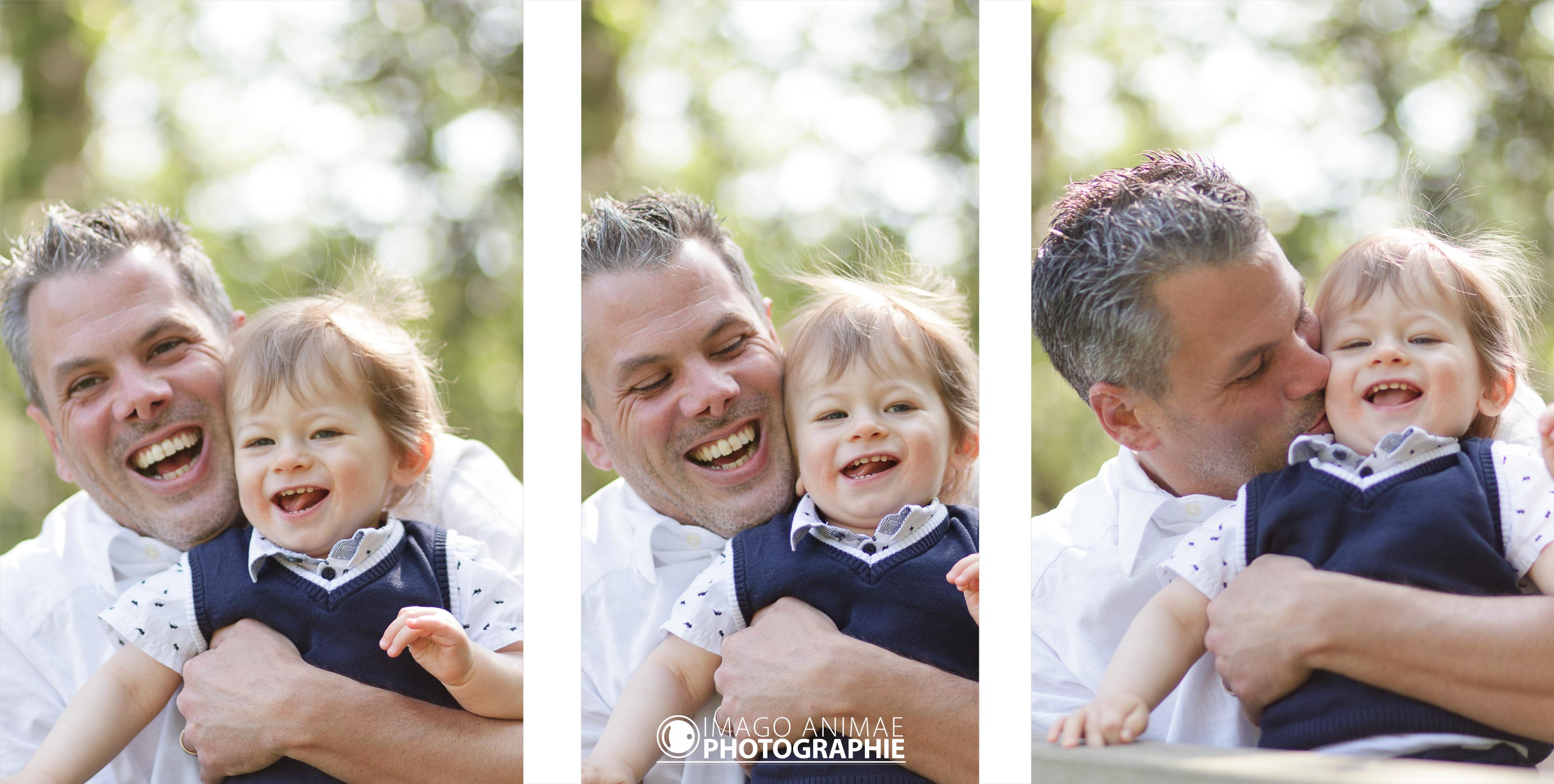 séance en famille à Eaunes - Aurélie & Nicolas - père et fils